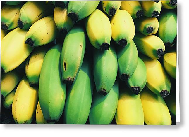 Bananas Greeting Card by Happy Home Artistry