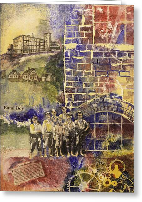 Band Boys Greeting Card by Edith Hardaway