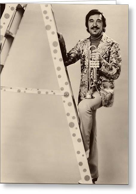 Band Leader Doc Serverinsen 1974 Greeting Card