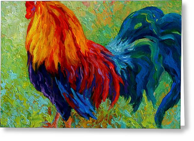 Band Of Gold - Rooster Greeting Card