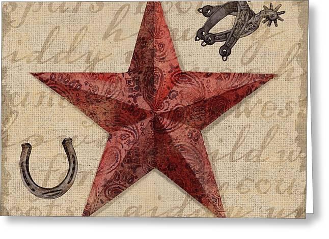 Bandana Barn Star I Greeting Card