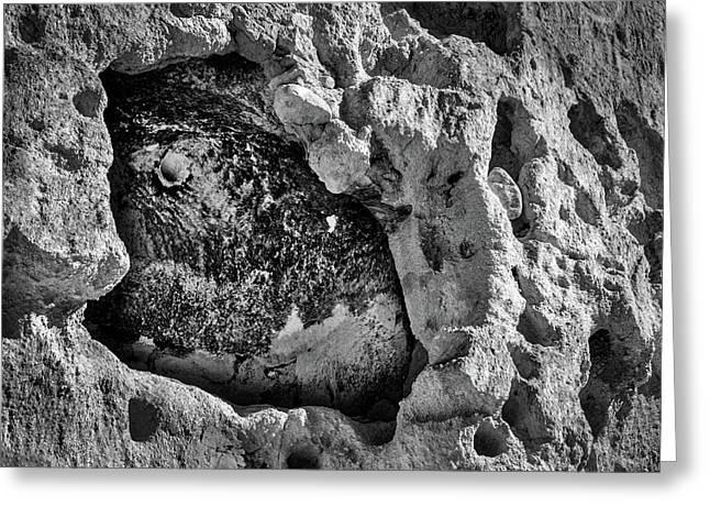 Bandelier Cave Room Greeting Card by Stuart Litoff