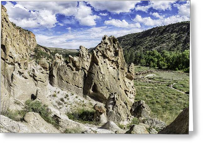 Bandelier National Monument  Greeting Card