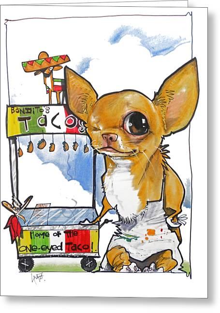 Bandito's Tacos Greeting Card