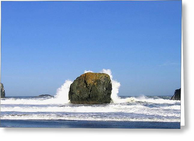 Bandon 14 Greeting Card by Will Borden