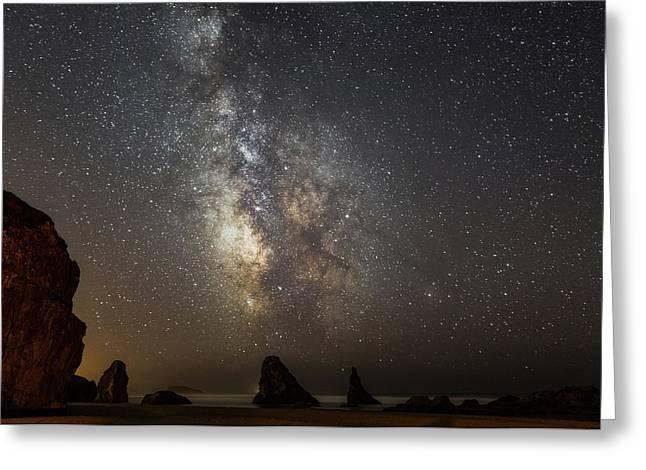 Bandon And Milky Way Greeting Card