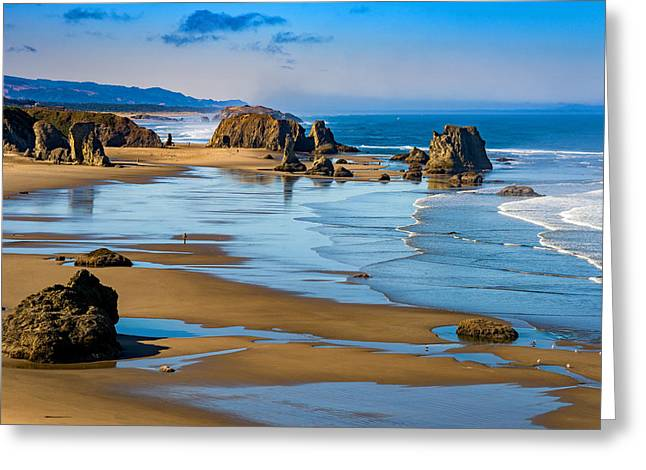 Bandon Beach Greeting Card