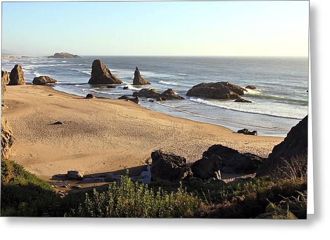Bandon Beachfront Greeting Card