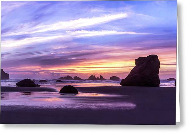 Bandon On Fire Greeting Card