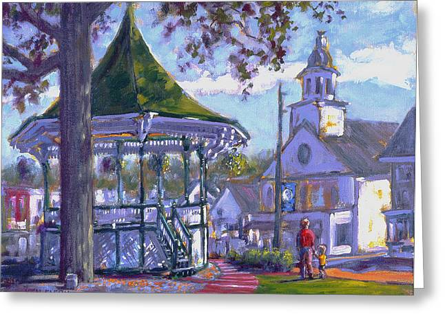 Bandstand Greeting Card