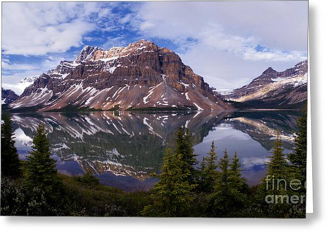 Banff - Bow Lake Greeting Card