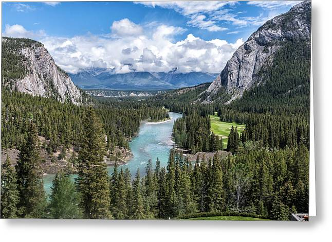 Banff - Golf Course Greeting Card