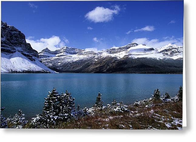Banff National Park Greeting Card by Susan  Benson
