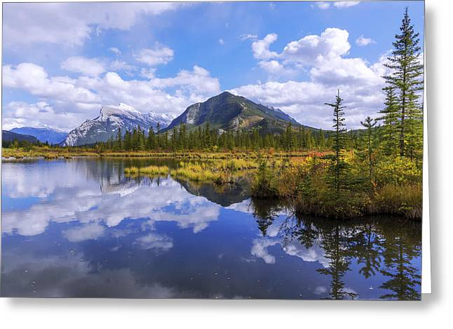 Banff Reflection Greeting Card