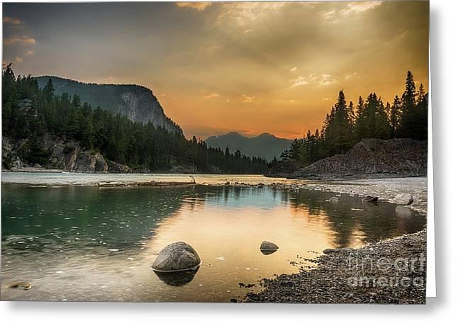 Banff Sunrise Greeting Card