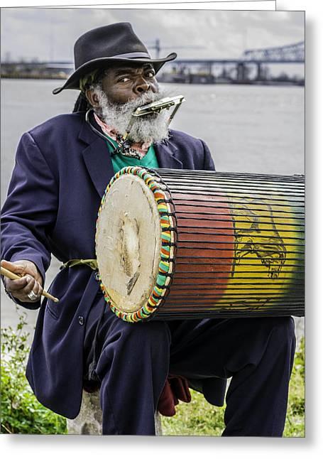 Bang That Drum Greeting Card