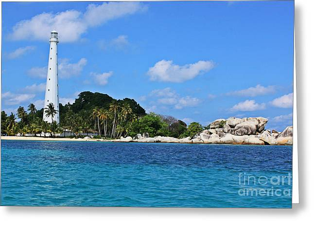 Bangka Belitung Island Greeting Card