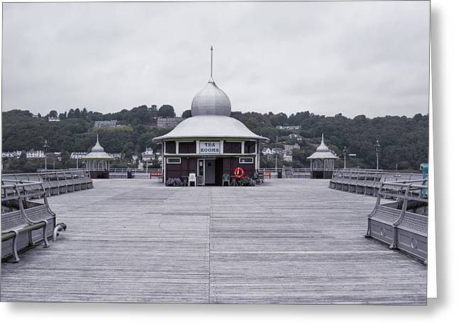 Bangor Pier Greeting Card