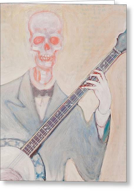 Banjo Bones Greeting Card