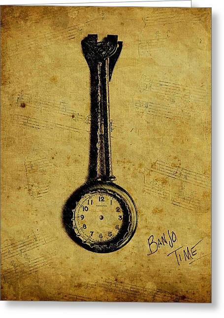 Banjo Time II Greeting Card