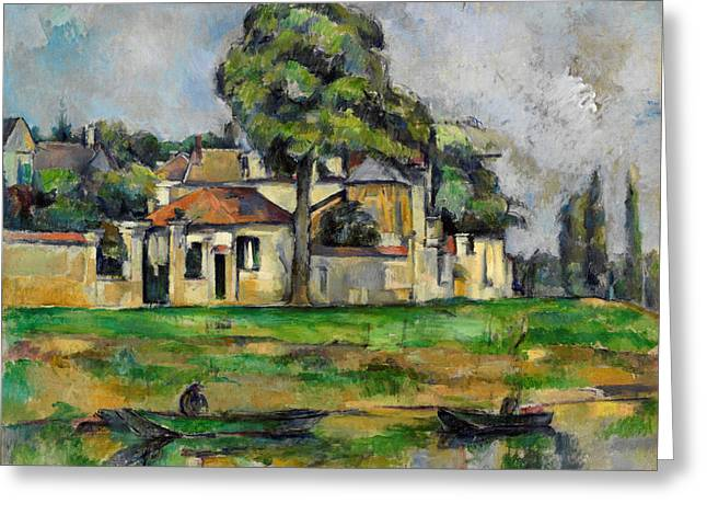 Banks Of The Marne Greeting Card