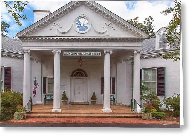 Banksia Mansion - Aiken, Sc Greeting Card