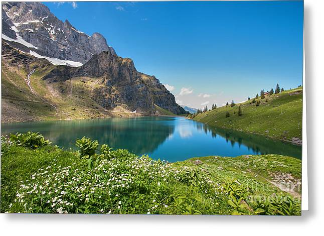 Bannalp Greeting Card