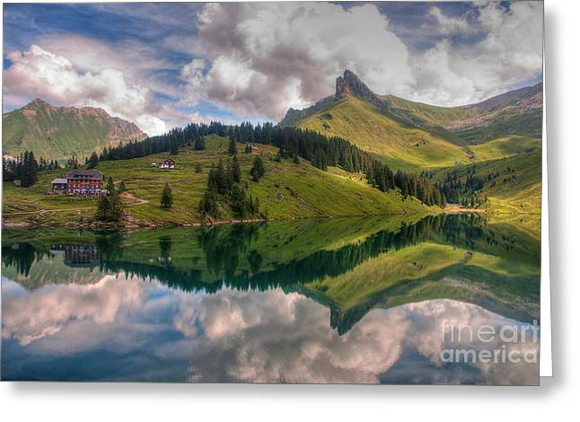 Bannalpsee Greeting Card