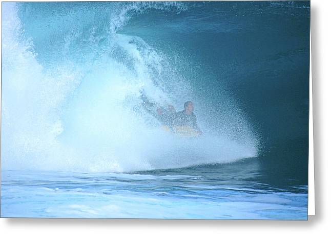 Banzai Pipeline Greeting Cards - Banzai Blowout Greeting Card by Kevin Smith