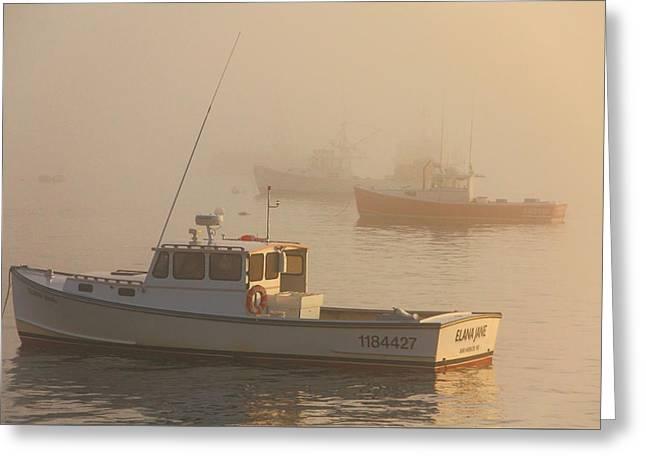 Bar Harbor Fleet Greeting Card