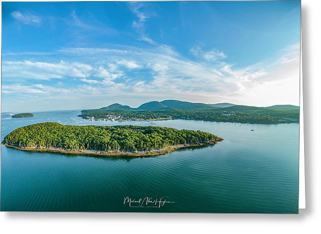 Bar Island, Bar Harbor  Greeting Card
