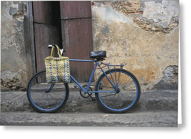 Baracoa Bicycle Greeting Card