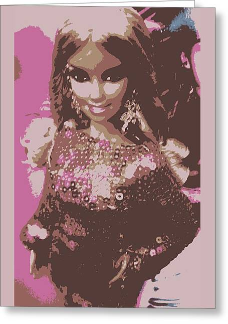 Barbie Sparkle Greeting Card