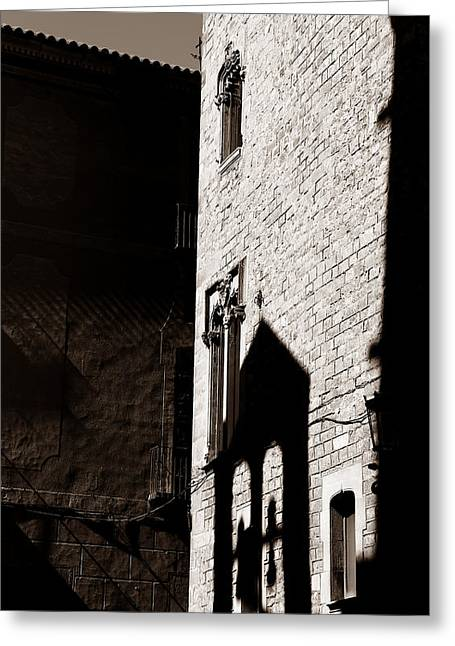 Greeting Card featuring the photograph Barcelona 2b by Andrew Fare