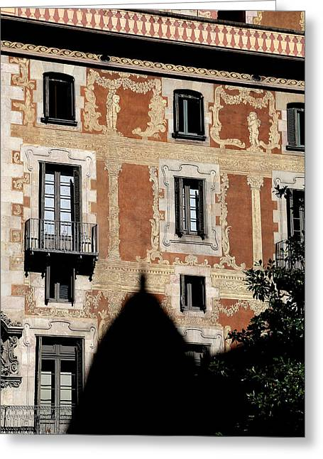 Greeting Card featuring the photograph Barcelona 3 by Andrew Fare