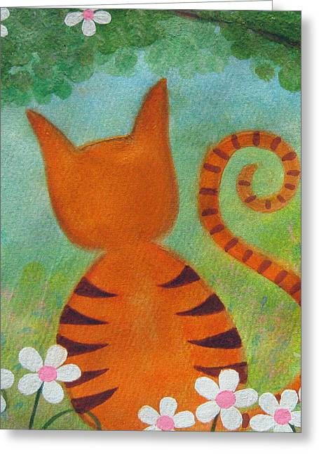 Barefoot In The Park Greeting Card by Samantha Shirley