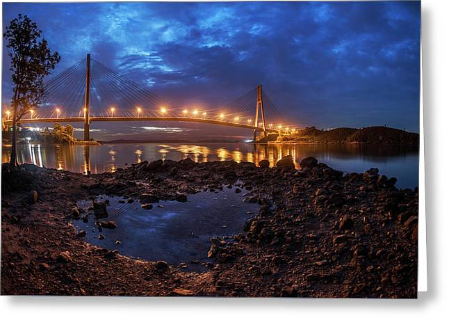 Barelang Bridge, Batam Greeting Card