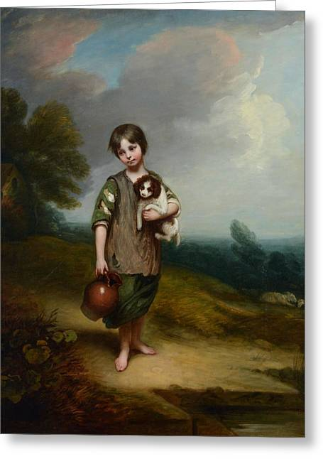 Barker Of Bath Greeting Card
