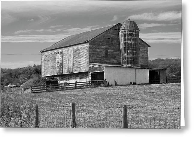 Greeting Card featuring the photograph Barn 1 by Mike McGlothlen