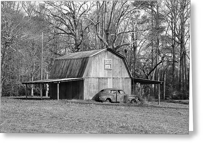 Greeting Card featuring the photograph Barn 2 by Mike McGlothlen