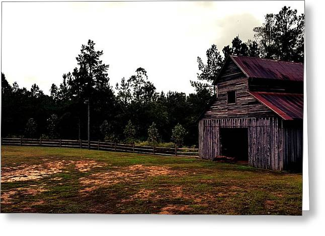 Barn Greeting Card by 2141 Photography