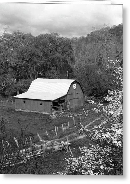 Barn 3 Greeting Card by Mike McGlothlen