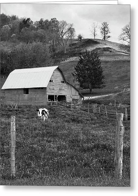Greeting Card featuring the photograph Barn 4 by Mike McGlothlen
