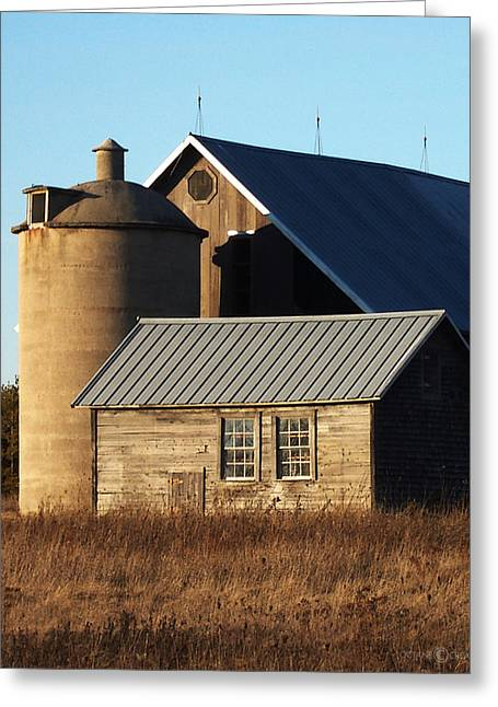 Barn At 57 And Q Greeting Card