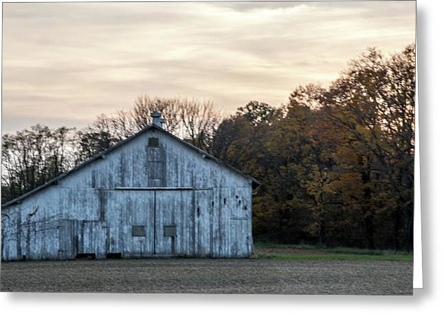 Barn At Sunset Greeting Card by Randall Branham
