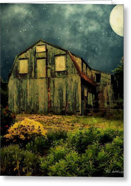 Barn By The Beach Greeting Card by RC deWinter