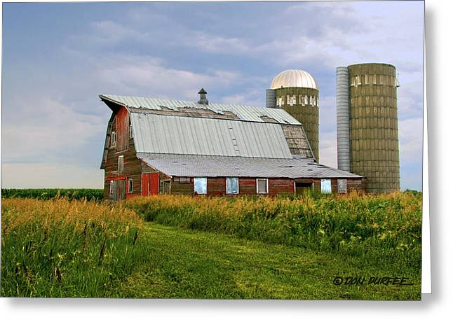 Greeting Card featuring the photograph Barn by Don Durfee