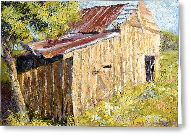 Barn Door Greeting Card