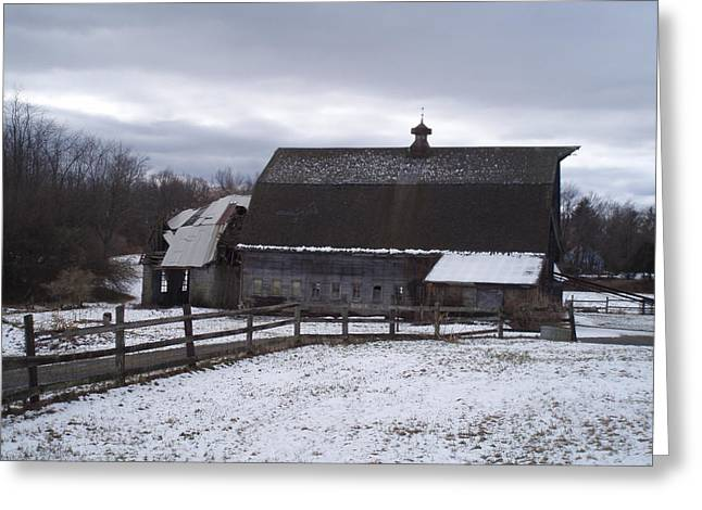 Barn Near New Paltz Ny Greeting Card