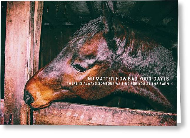 Barn Play Quote Greeting Card